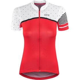 GORE WEAR C7 CC - Maillot manches courtes Femme - rouge/blanc